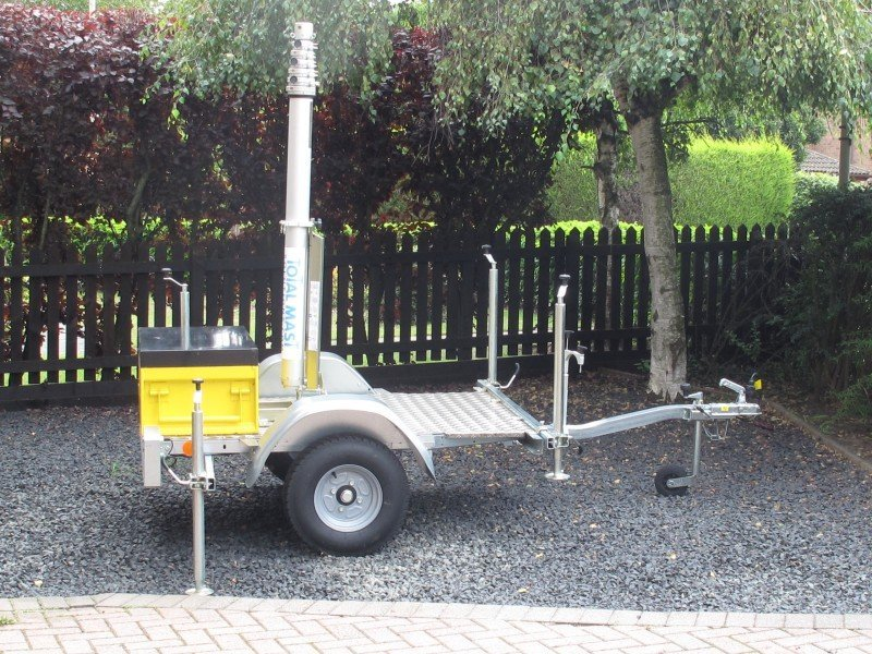 Lightweight Trailer Lay Flat Type