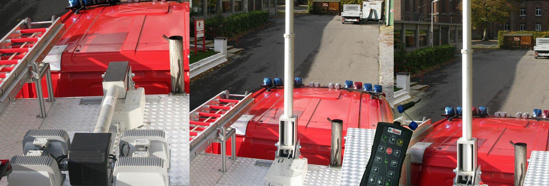 Emergency Vehicle Mast