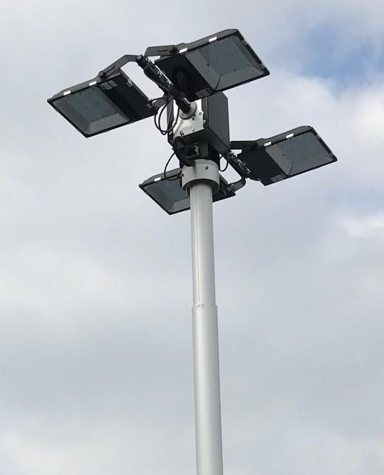 Keyed Lighting Mast