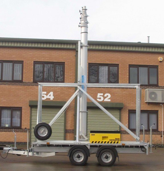 Super Strong Trailer Mast System