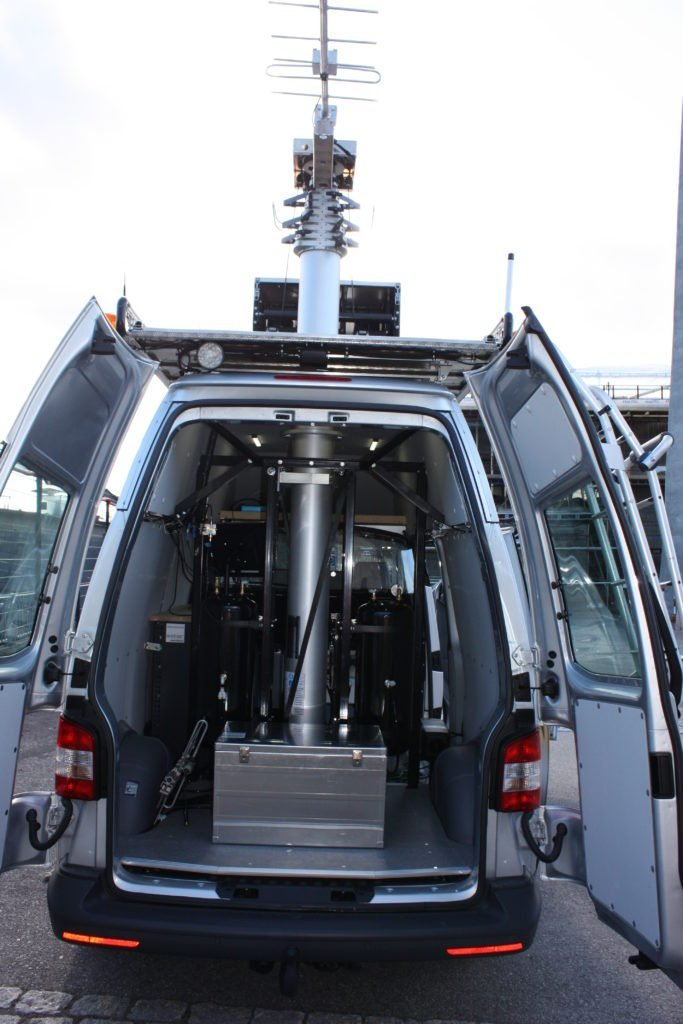 Vehicle Mounted Keyed Mast