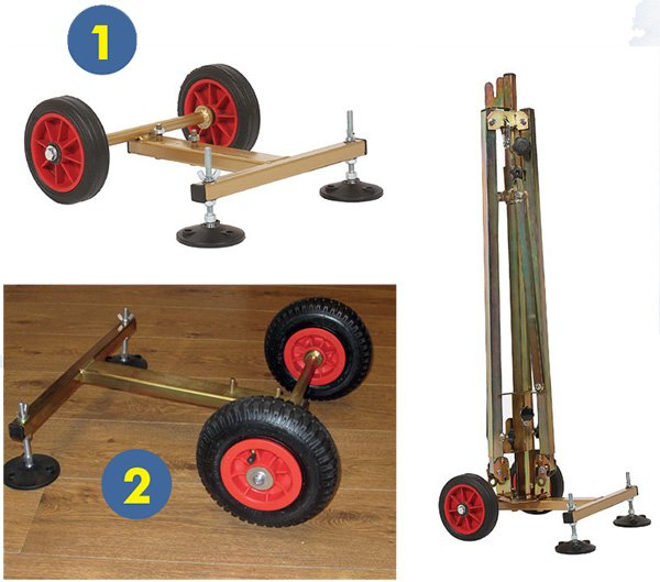 Tripod Wheel Base