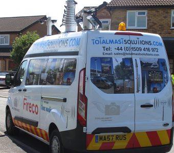 Total Mast Solutions Van