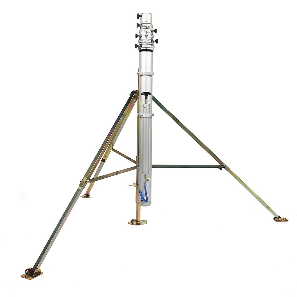 Fireco Mast on Q Pod