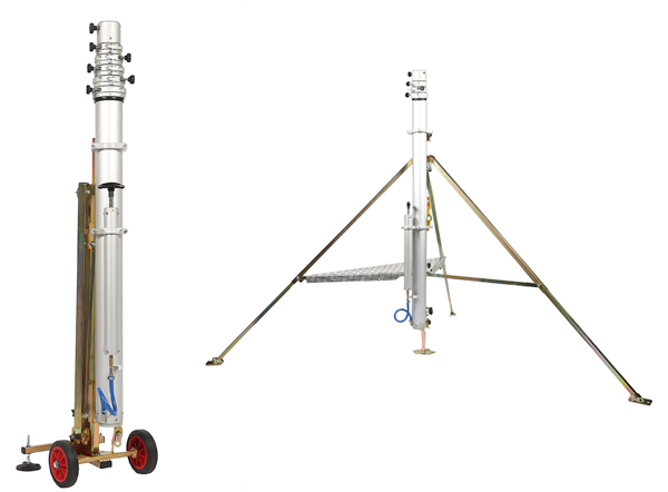 Portable Pneumatic Masts