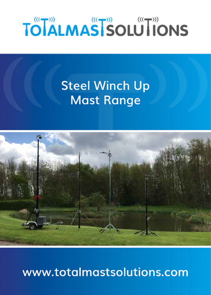 Steel Winch Up Mast Range