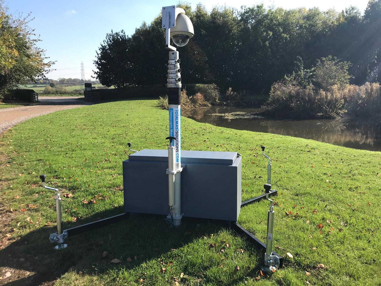 Site Security Boxpod Mast System