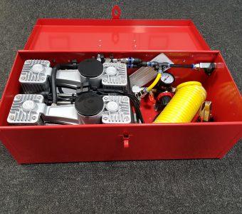 Air compressor box