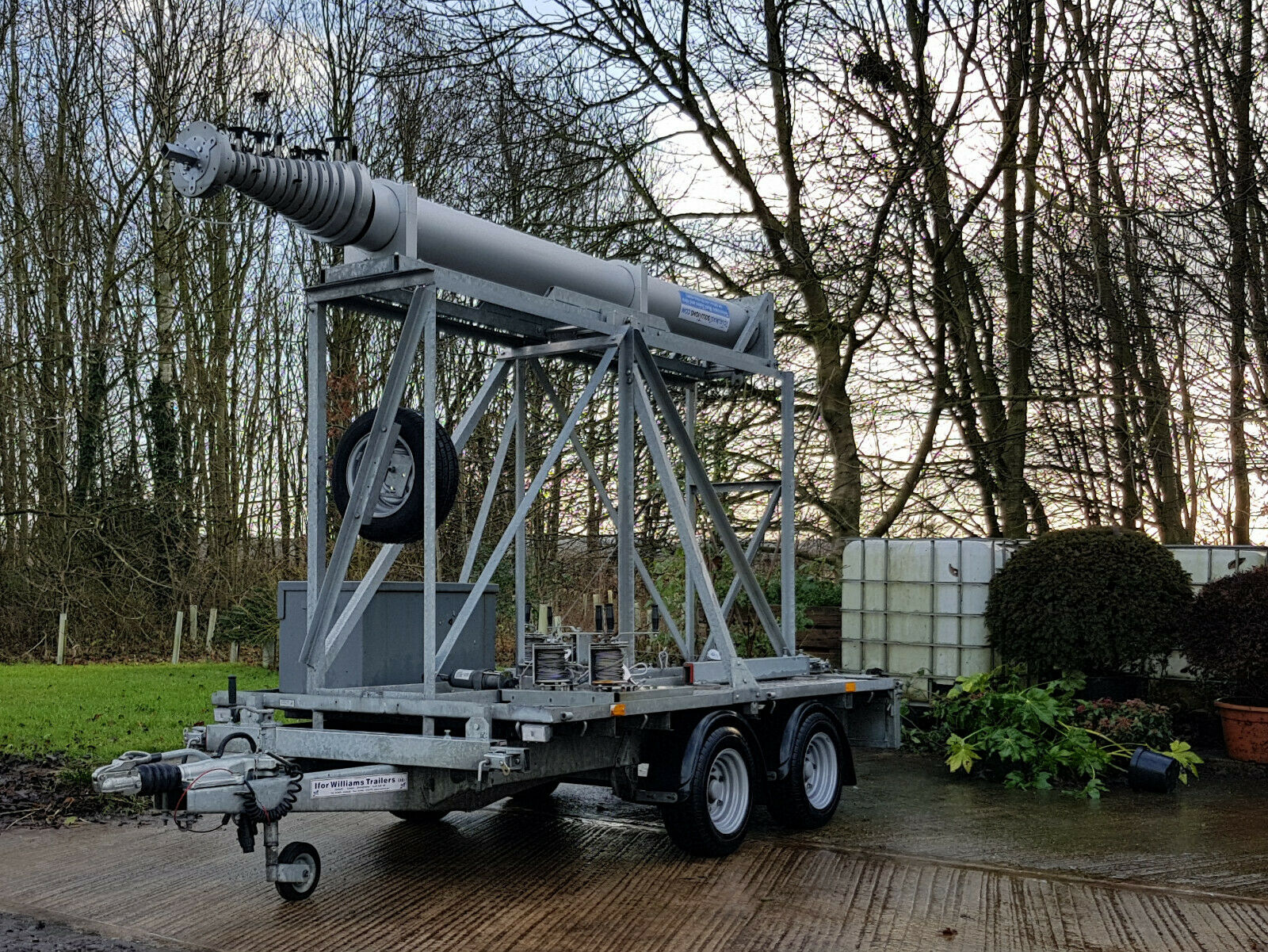 32.946 Metre Telescopic Trailer Mast